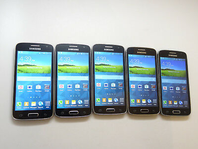 Lot of 5 Samsung Galaxy Avant SM-G386T T-Mobile Smartphones AS-IS GSM !