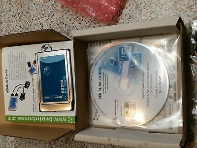 brainboxes PCMCIA Cards Seriell Adapter PM-020  1x RS232