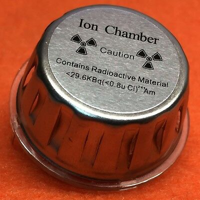 ELEMENT #95, AMERICIUM ION CHAMBER, <0.8 uCi OF Am-241, MAILED FROM USA