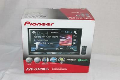 "Pioneer AVH-X490BS 7"" Double-DIN In-Dash DVD Receiver w/ Bluetooth NEW!!"