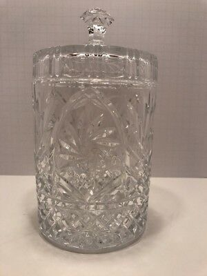Crystal Biscuit Jar American Crystal Collection St. George Glass