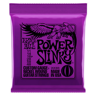 Ernie Ball Power Slinky Nickel Wound Electric Guitar Strings