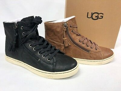 3db35acc5e7 NEW UGG AUSTRALIA Blaney Chocolate Brown Crystals High-Top Shoes ...