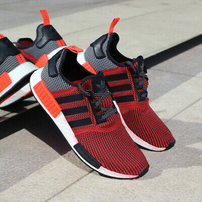 6537e9f1cc8a8 adidas NMD R1 S79158 Lush Red White Black NMD Orange Infrared Boost OG NEW  DS
