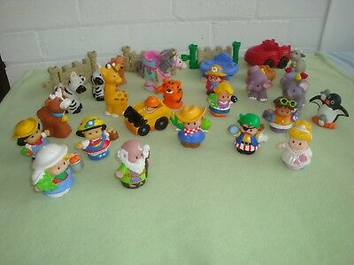 FISHER PRICE Little People & Accessories, Bulk Lot, 31 pieces, Melbourne