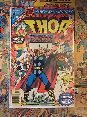 Marvel Thor King-Size Annual #6 1977