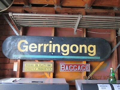 Gerringong Railway Station Sign