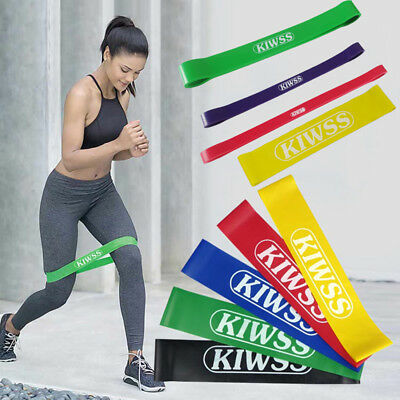 Heavy Duty Resistance Strech Band Loop Power Gym Fitness Stretch Yoga Workout