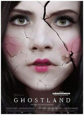 GHOSTLAND Affiche Cinéma Originale Movie Poster Mylène Farmer
