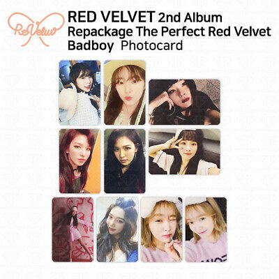 RED VELVET 2nd Album Repackage THE PERFECT RED VELVET Photocard KPOP Bad Boy