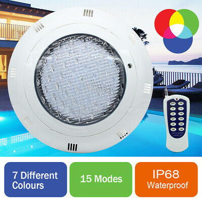 36W 45W RGB Swimming Pool Spa LED Underwater Light Multi Colour Lamp+Controller