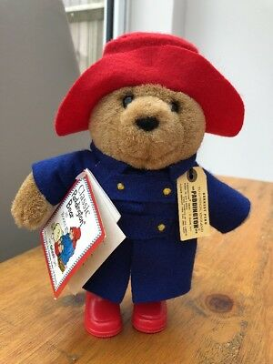 Classic Paddington Bear by Eden - Soft Toy - 20 cm's - new with tags