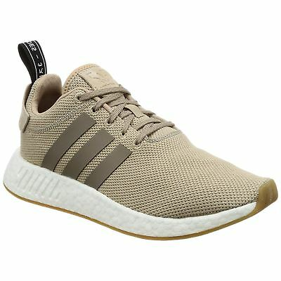 dbe89a221cbc ADIDAS NMD R2 Beige Trace Khaki Mens Low-top Sneakers Boost Trainers -   106.58