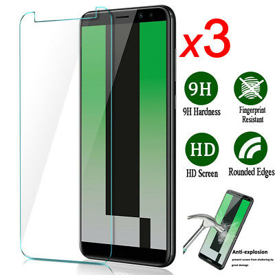 3Pack Clear Tempered Glass Film 2.5D Screen Protector for Huawei Mate10/P10 Lite