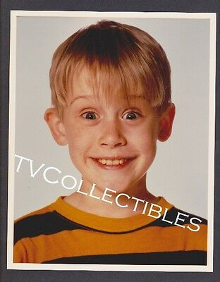 8x10 Vintage Photo~ HOME ALONE ~1990 ~Macaulay Culkin ~Headshot ~CS