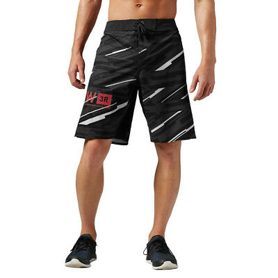 Men's Sports Shorts Reebok One Series Graphic 1ShortA Training Black Knickers