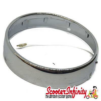 Headlight Rim CASA (CEV Type comes with screws & washers) Lambretta LI series 2