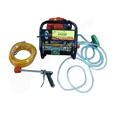 New Garden Weed Sprayer Pump Water Chemical include Petrol Engine Motor & Hose