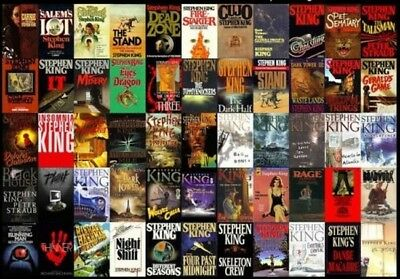 74 Audiobooks - The Complete Stephen King Audiobook collection mp3/DVD