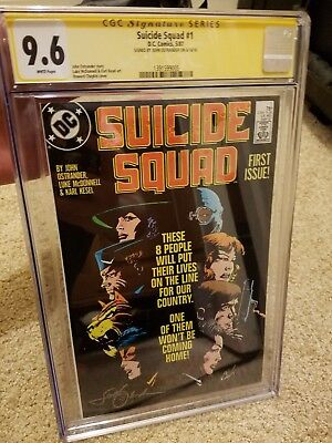 Suicide Squad #1 (1987) CGCSS 9.6 Signed by John Ostrander