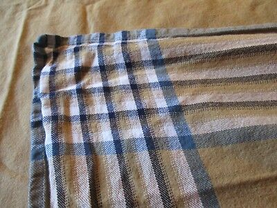 Vintage Primitive look Tablecloth French Country Cottage Shabby CHIC material