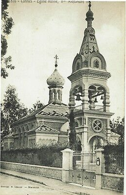 CPA - Carte postale - France -Cannes - Eglise orthodoxe russe ( CPV 189)