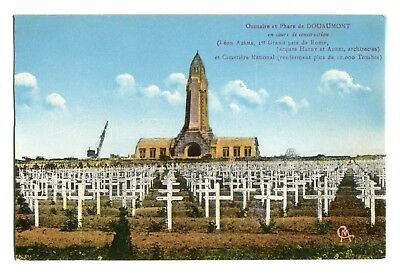 CPA - Carte postale - France - DOUAUMONT -Ossuaire en cours de construction 1920