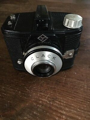 Agfa Clack -Werk AG 120mm Camera made in Germany with original case