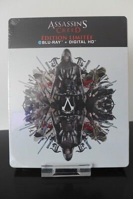 Blu-ray steelbook Assassin's Creed édition Française Neuf