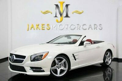 2015 Mercedes-Benz SL-Class SL550 DESIGNO ($118K MSRP) 2015 MERCEDES SL550 DESIGNO~$118K MSRP~DESIGNO DIAMOND WHITE ON DESIGNO RED! 15K