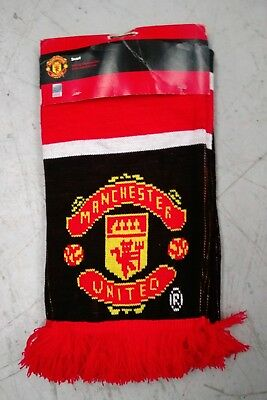Manchester United (Brand New With Tags) Official Merchandise Football Scarf