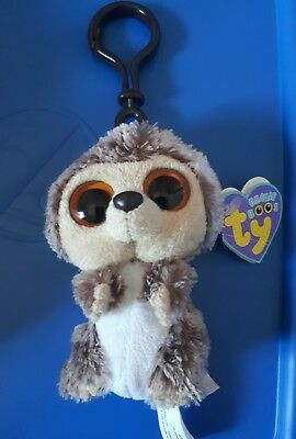 TY beanie Boo clip Spike Hedgehog Retired & Rare tags attached