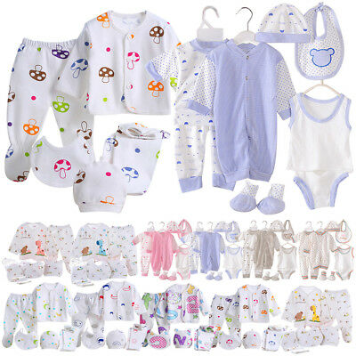 6bc34c2a917a NEW BABY GIRLS Layette Gift Set Age 0 3 6 9 Months Bunny Cotton Bib ...