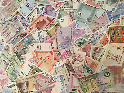 World Money Paper Currency Bills Collection Money Liquidation Sale Unc Hoard Lot