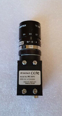 IMC-30FC PEARL CMOS SERIES Color FireWire Camera BY IMI-TECH, 35mm Pentax Lens