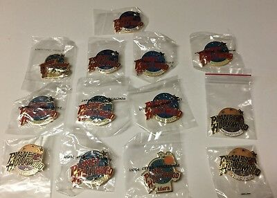 Planet Hollywood Pin Lot Of 13 - London New Orleans Atlanta Chicago Vegas