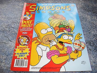 The Simpsons Christmas 2002 Comic 74 Join The Fiesta