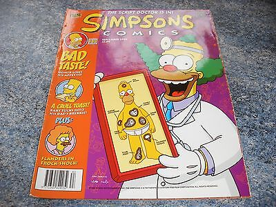 The Simpsons September 2003 Comic 83 The Script Doctor Is In
