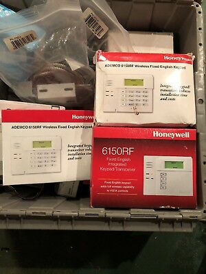 New honeywell ademco 6150rf keypad touchpad vista 10p 20p 21ip 3 new honeywell ademco 6150rf keypad fixed english display wbuilt in 5881enm sciox Image collections