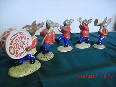 ROYAL DOULTON BUNNYKINS 50th Anniversary GOLDEN JUBILEE OOMPAH BAND