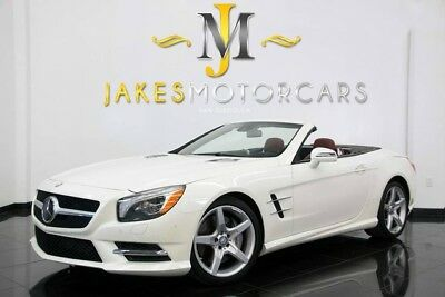 2015 Mercedes-Benz SL-Class SL550 Sport Pkg.($115K MSRP) 2015 MERCEDES SL550~ $115K MSRP~ DESIGNO DIAMOND WHITE ON BENGAL RED! 10K MILES!