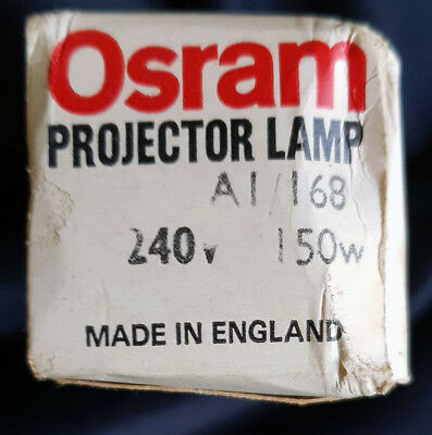 Osram Projector bulb lamp A1/168 150W 240V NEW