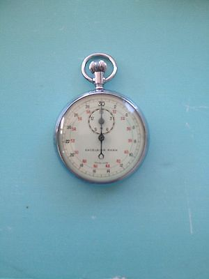 Excelsior Park No.3364 Antique Military Chronograph Stop Watch
