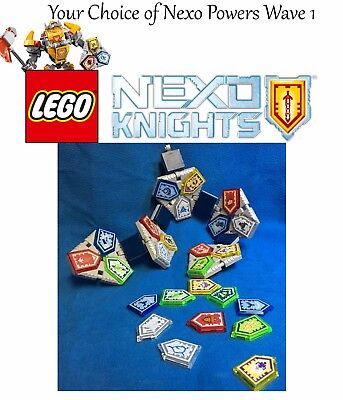 Your Choice Of ●ҩ NEXO POWER ҩ● Lego Nexo Knights Powers Wave 1 - 70372 (1 Pc)