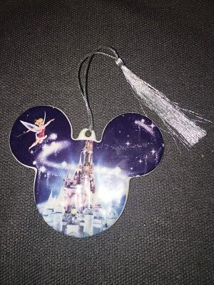 DISNEY World PARKS 2008 COLLECTIBLE CHRISTMAS HOLIDAY ORNAMENT Mickey Mouse Ears