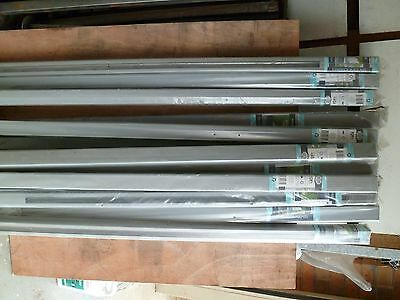 20 Brand New Alloy 50X50x1400mm pool / security fencing post's (for Glass Panels