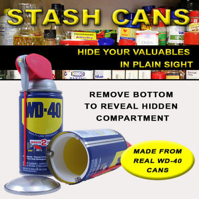 Wd 40 Hidden Diversion Stash Can  Home Safe Hide Herbal Cash Jewelry