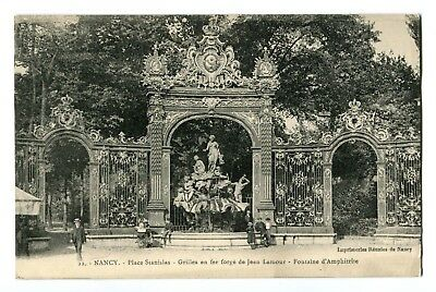 CPA - Carte postale - France - Nancy - Place Stanislas- Fontaine d'Amphitrite