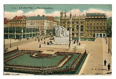 CPA - Carte postale - France - Le Havre - Place Gambetta - (CPV 236)