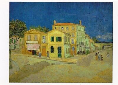 VINCENT VAN GOGH MUSEUM ART PRINT POSTCARD The Yellow House